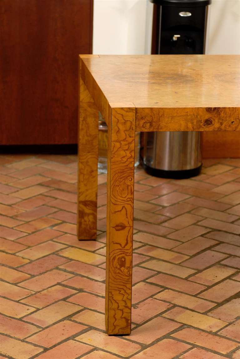 Gorgeous Olive Wood Dining Conference Table In The Style